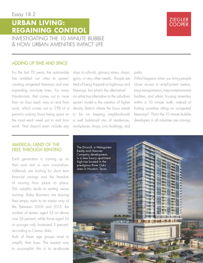 Case Study for downtown Houston architecture firm. Completed copywriting/design elements and did layout.
